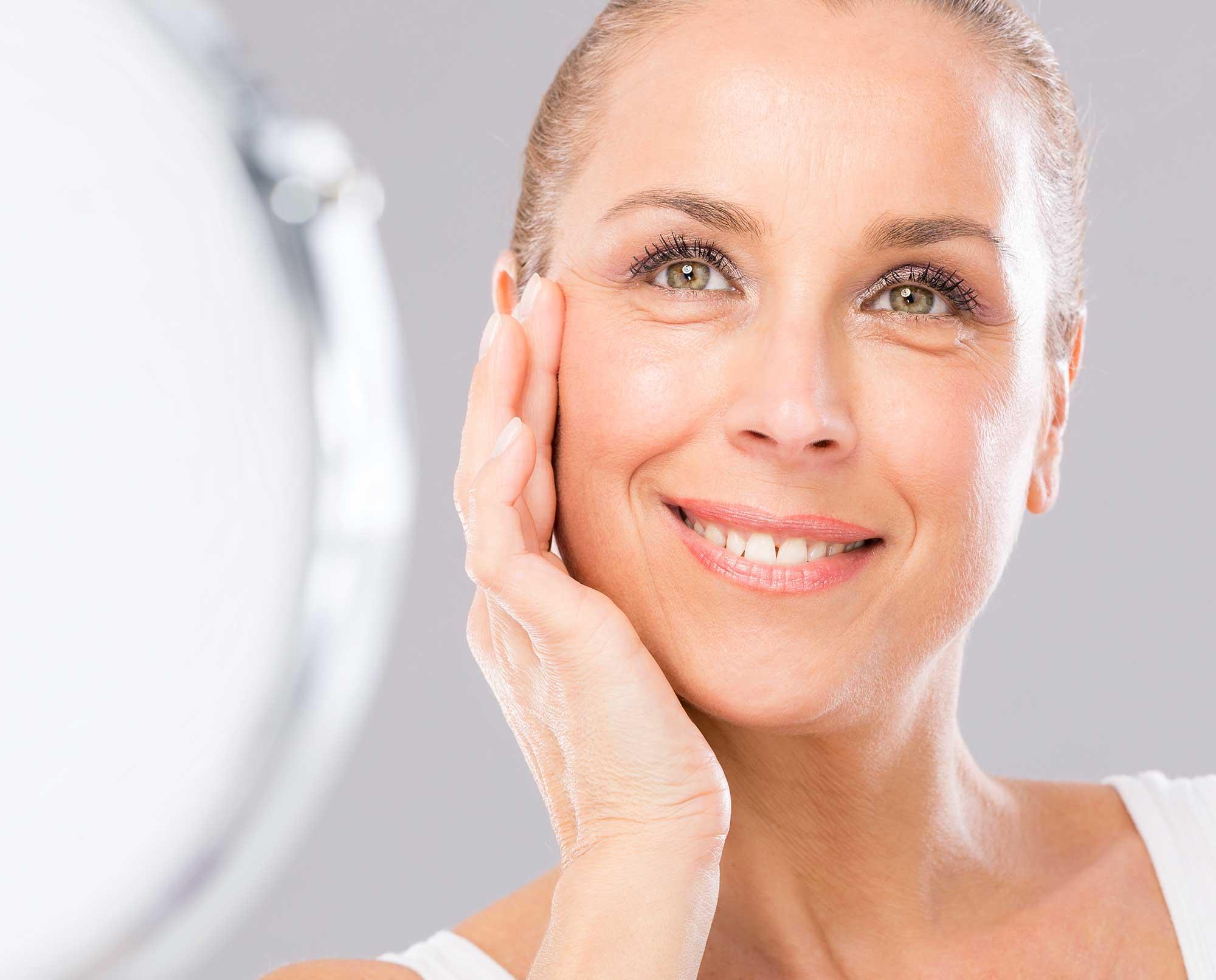 Topsi Hautbedürfnisse: Falten dauerhaft glätten