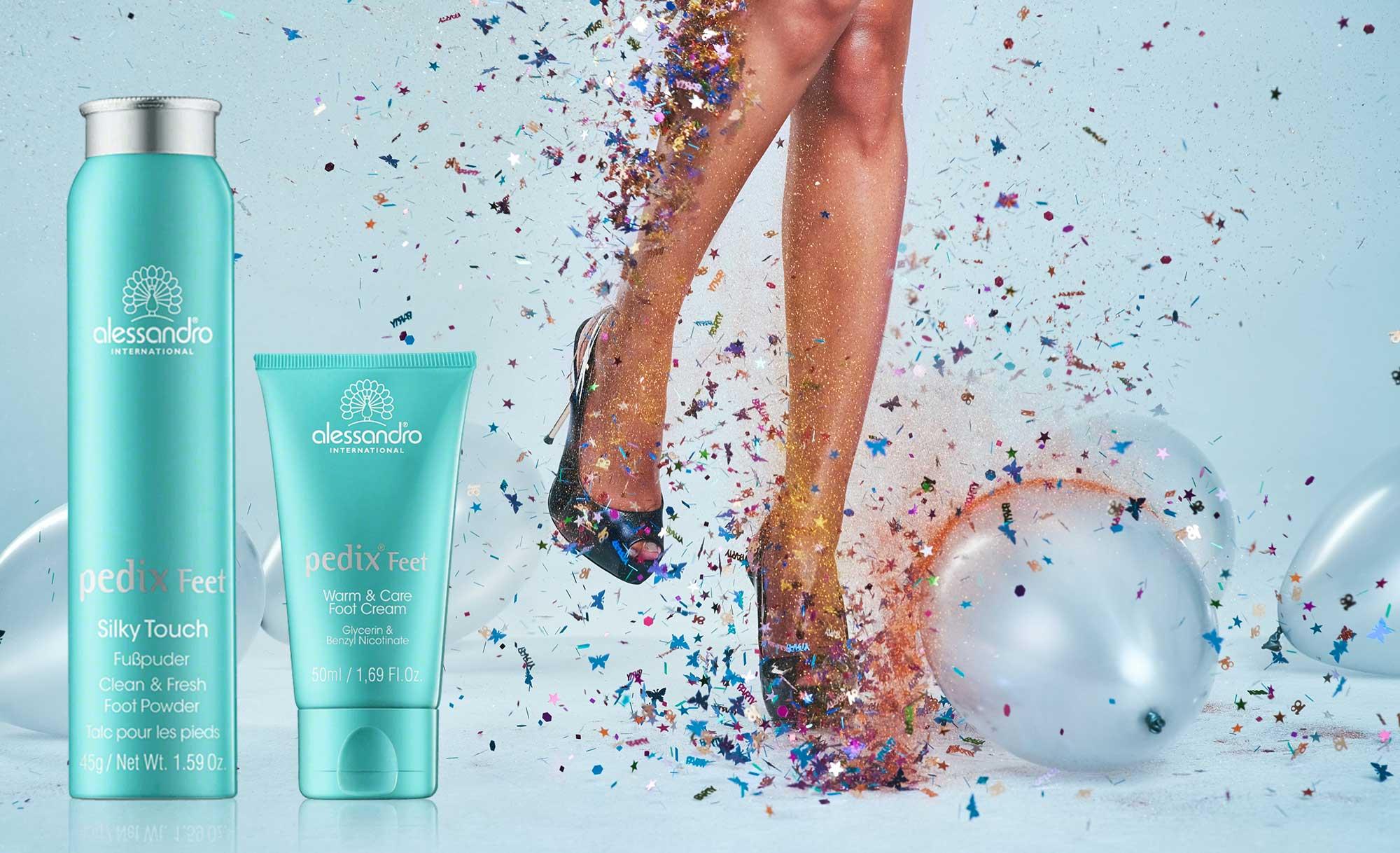Topsi Produkte Handpflege, Fußpflege, Nagelpflege, Alessandro Pedix Feet