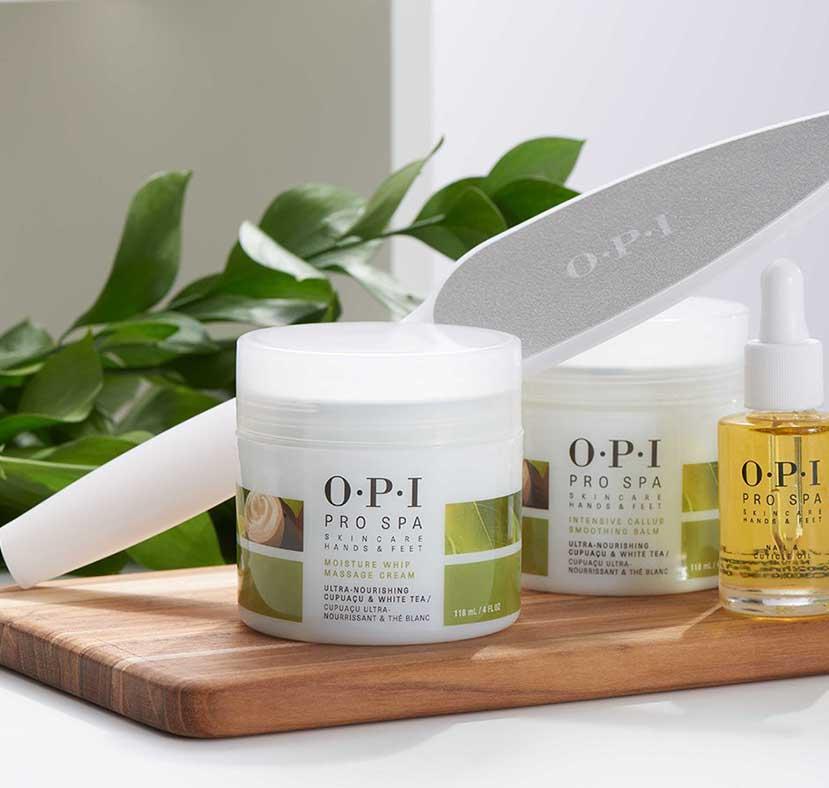 Topsi Produkte Handpflege, Fußpflege, Nagelpflege, OPI Pro Spa Serie