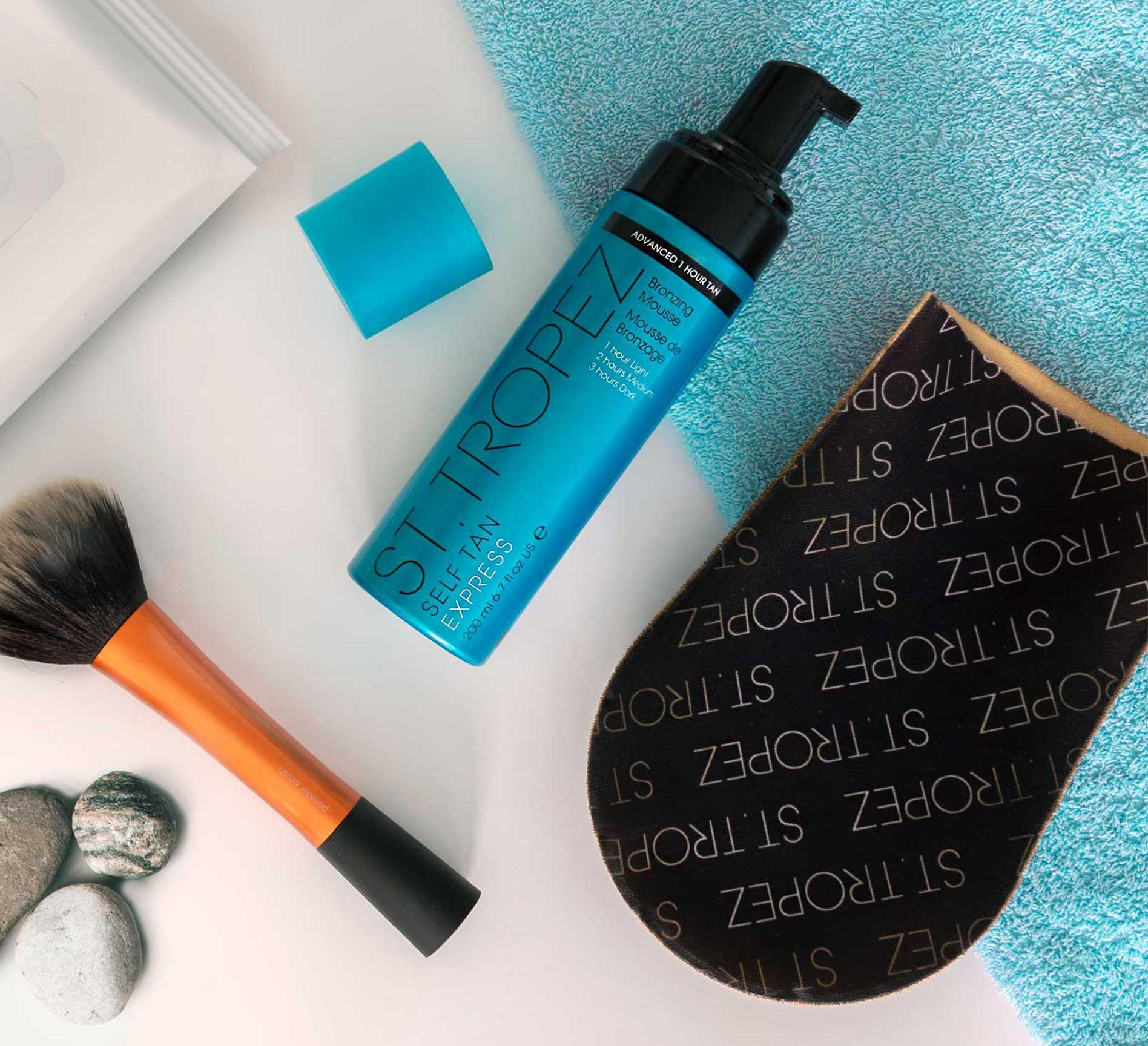 Topsi Produkte Sonnenschutz Sonnenpflege St. Tropez Self Tan Express