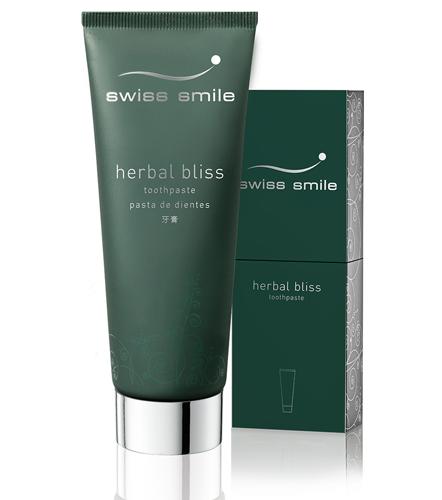 Topsi Produkte Zahnpflege Swiss Smile Herbal Bliss